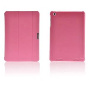 Чехол смарт флип подставка сегментарный на пластиковой основе для Acer Iconia Tab A1-830 Розовый