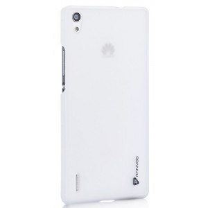 Пластиковый чехол для Huawei Ascend P7 Белый