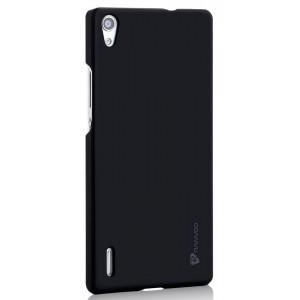 Пластиковый чехол для Huawei Ascend P7 Черный