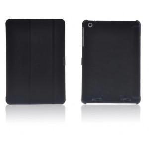 Чехол смарт флип подставка сегментарный на пластиковой основе для Acer Iconia Tab A1-830 Черный