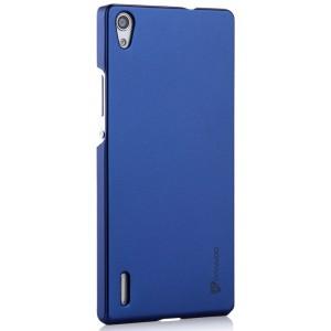 Пластиковый чехол для Huawei Ascend P7 Синий