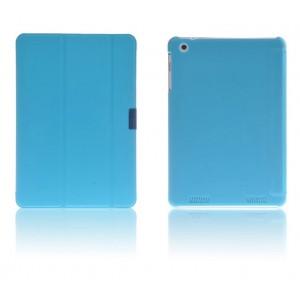 Чехол смарт флип подставка сегментарный на пластиковой основе для Acer Iconia Tab A1-830 Голубой
