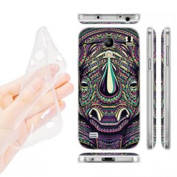 Силиконовый матовый дизайнерский чехол с эксклюзивной серией принтов для Samsung Galaxy S4 Mini (изготовление на заказ)