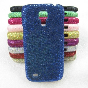 Эксклюзивный пластиковый дизайнерский чехол с аппликацией пайетками ручной работы для Samsung Galaxy S4 Mini