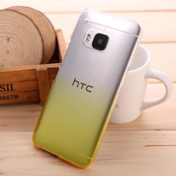 Пластиковый градиентный полупрозрачный чехол для HTC One M9