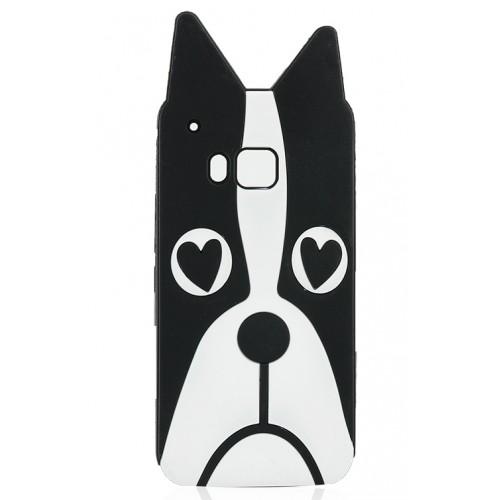 Силиконовый дизайнерский фигурный чехол для HTC One M9
