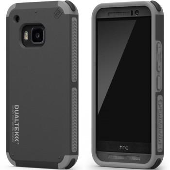 Эксклюзивный многослойный премиум чехол силикон/поликарбонат с прорезиненными торцами и угловыми отражателями ударов (наивысшая степень защиты гаджета при падении) для HTC One M9