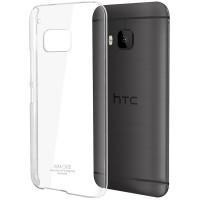 Пластиковый транспарентный чехол для HTC One M9