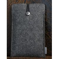 Универсальный дизайнерский чехол-мешок из войлока для HTC One M9 Черный