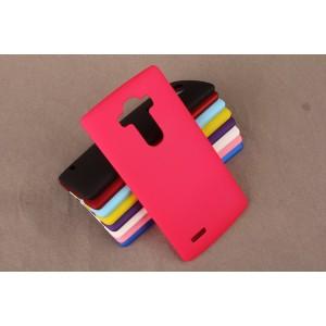 Пластиковый матовый непрозрачный чехол для LG G4