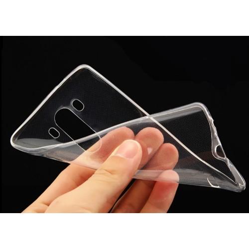 Силиконовый транспарентный чехол для LG G4