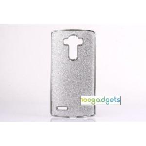 Дизайнерский поликарбонатный чехол с текстурным покрытием Золото для LG G4
