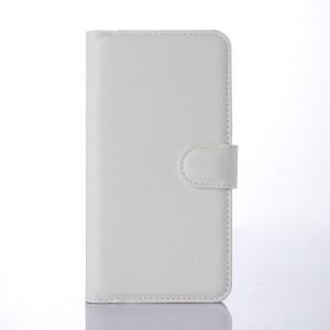 Чехол портмоне подставка с защелкой для Microsoft Lumia 640 Белый