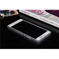 Металлический бампер для Huawei Ascend P7 Черный