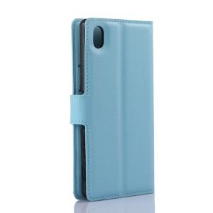 Чехол портмоне подставка с защелкой для Sony Xperia M4 Aqua
