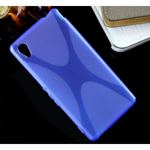 Силиконовый X чехол для Sony Xperia M4 Aqua
