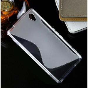 Силиконовый S чехол для Sony Xperia M4 Aqua