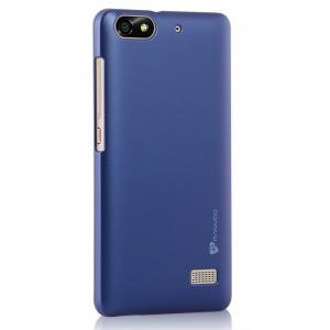 Пластиковый матовый металлик чехол для Huawei Honor 4C