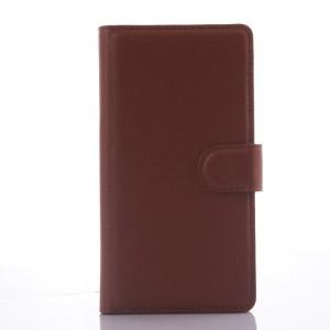 Чехол портмоне подставка с магнитной защелкой для LG Magna