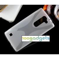 Силиконовый X чехол для LG Magna Белый