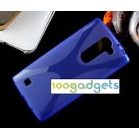 Силиконовый X чехол для LG Magna Синий