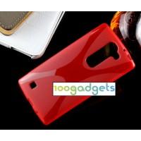 Силиконовый X чехол для LG Magna Красный