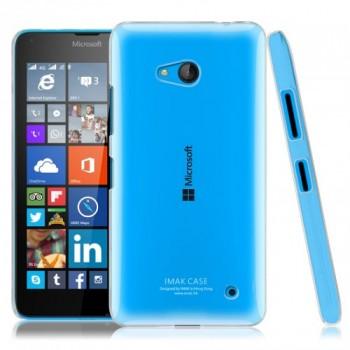 Пластиковый транспарентный чехол для Microsoft Lumia 640