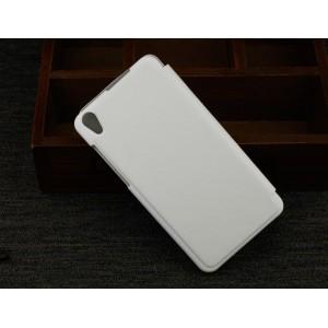 Чехол флип для Lenovo S850 Ideaphone Белый