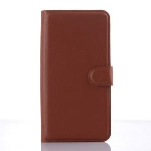 Чехол портмоне подставка с защелкой для ZTE Blade S6 Plus