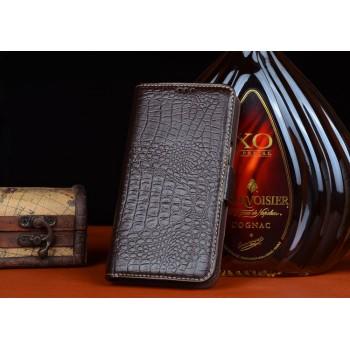 Кожаный чехол портмоне (нат. кожа крокодила) для ZTE Grand S 2