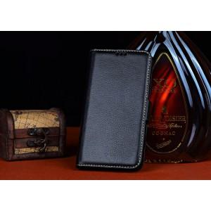 Кожаный чехол портмоне (нат. кожа) для ZTE Grand S 2