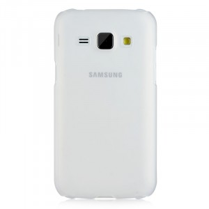 Пластиковый матовый непрозрачный чехол для Samsung J1