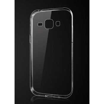 Силиконовый транспарентный чехол для Samsung J1