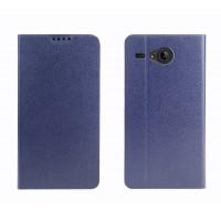 Чехол флип подставка на силиконовой основе с внутренним карманом для Acer Liquid Z520 Синий