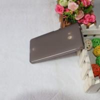 Силиконовый матовый полупрозрачный чехол для Microsoft Lumia 540 Черный