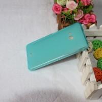 Силиконовый матовый полупрозрачный чехол для Microsoft Lumia 540 Голубой