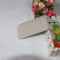 Силиконовый матовый полупрозрачный чехол для Microsoft Lumia 540 Белый