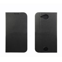 Чехол флип подставка на силиконовой основе для Acer Liquid Jade Z Черный