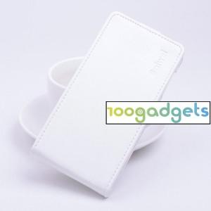 Чехол вертикальная книжка на силиконовой основе с магнитной застежкой для ZTE Blade S6/S6 Lite