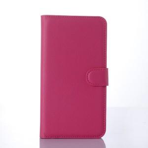 Чехол портмоне подставка с защелкой для Microsoft Lumia 640 XL Пурпурный