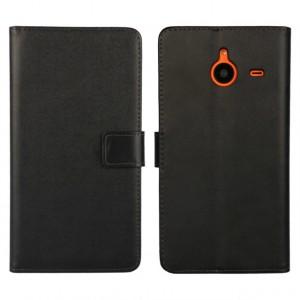 Чехол портмоне подставка с защелкой для Microsoft Lumia 640 XL Черный