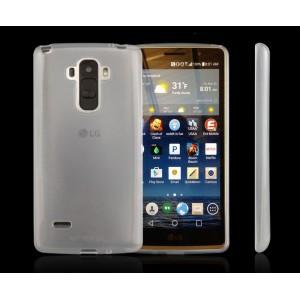 Силиконовый матовый полупрозрачный чехол для LG G Stylo