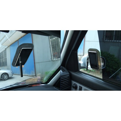 Нескользящий автомобильный силиконовый коврик для гаджетов 14х8 см