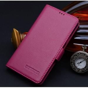 Кожаный чехол портмоне (нат. кожа) для Samsung Galaxy Grand Prime