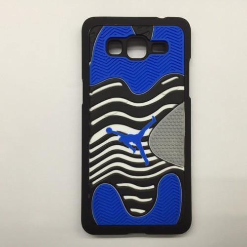 Гибридный дизайнерский чехол силикон/пластик с принтом Джордан для Samsung Galaxy Grand Prime