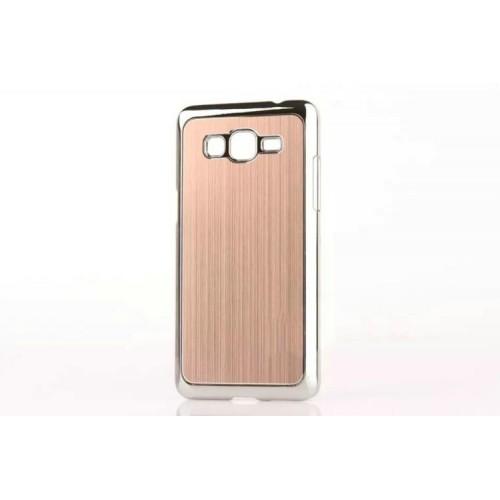 Пластиковый чехол с текстурой Металл для Samsung Galaxy Grand Prime