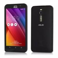Металлический одноцветный бампер для Asus Zenfone 2 Черный