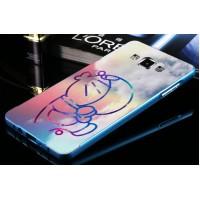 Двухкомпонентный чехол с металлическим бампером и поликарбонатной принтованной крышкой для Samsung Galaxy A5