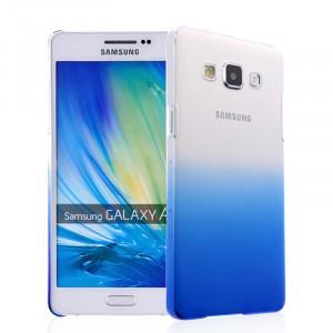 Пластиковый градиентный полупрозрачный чехол для Samsung Galaxy A5