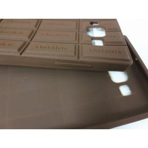 Силиконовый дизайнерский фигурный чехол Шоколадка для Samsung Galaxy A5